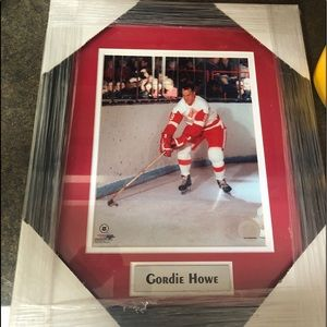 Other - Gordie Howe Framed Picture